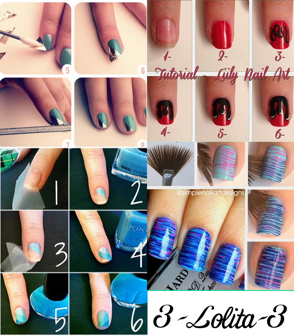 Nail Art Notre Tuto Pour Des Ongles As Well As Nail Art Notre Tuto ...