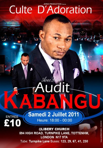 Audit Kabangu en concert